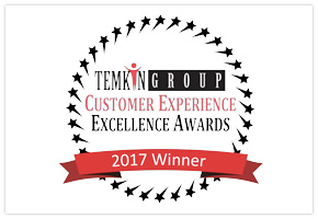 Temkin Group CX Excellence Award Winner