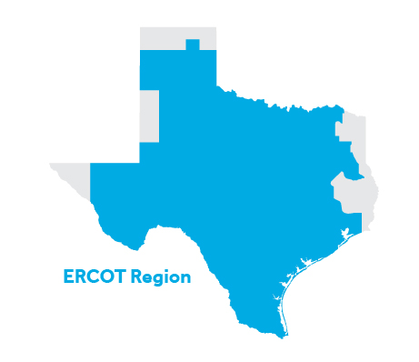 Areas We Serve In Texas Reliant Energy