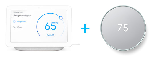 Google Home + Nest Thermostat E