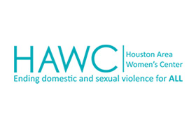Houston Area Women's Center Holding Check