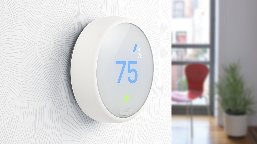 Get the new $169 Nest Thermostat E at no cost with the Reliant Learn & Conserve 12 plan.