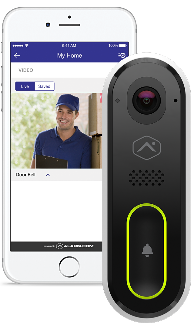 Reliant phone video from doorbell