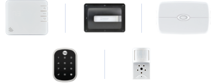 Security by Reliant Video Plus Home automation options - 1 Smart thermostat, 1 garage door controller, 1 smart outlet, 1 wifi door lock or 1 image sensor
