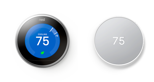 Google Nest Learning Thermostat and Google Nest Thermostat E