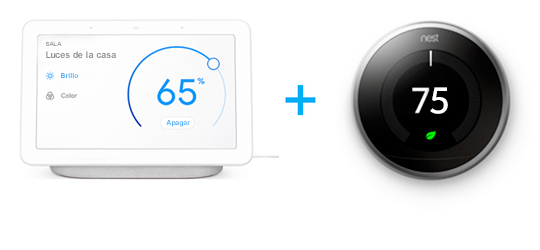 Google Home + Nest Learning Thermostat