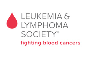 Leukemia Lymphoma Society Holding Check
